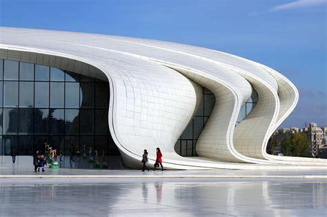 Architectural House Designs Heydar Aliyev Center Public Building In Baku Thousand