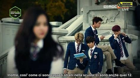 exo vcr sub ita melon music award 2013 with exo drama vcr