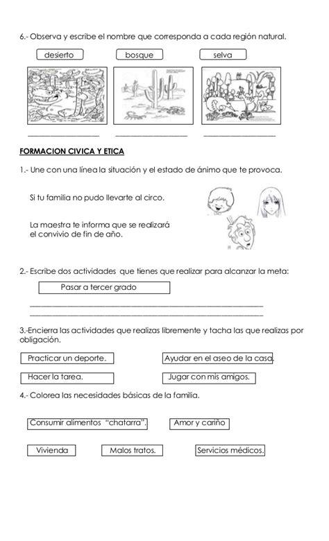 examen segundo bimestre examen 2do bim primer grado editorial 1 1