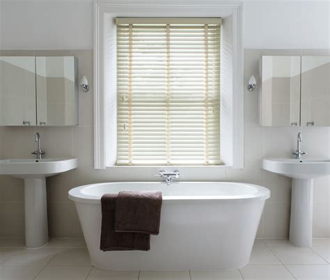 shutters in bathroom which blinds are best for bathrooms wooden blinds direct