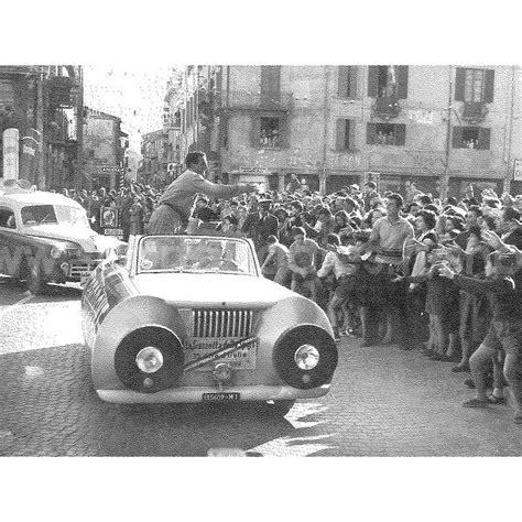 tub d italia auto chlorodont caravane giro 1952