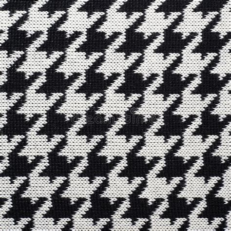 houndstooth pattern definition black and white knitted houndstooth pattern stock image