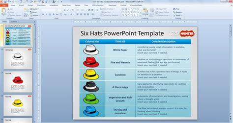 debono hats template free six hats powerpoint template free powerpoint