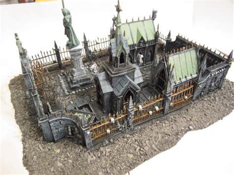 chaos garden of morr graveyard terrain warhammer