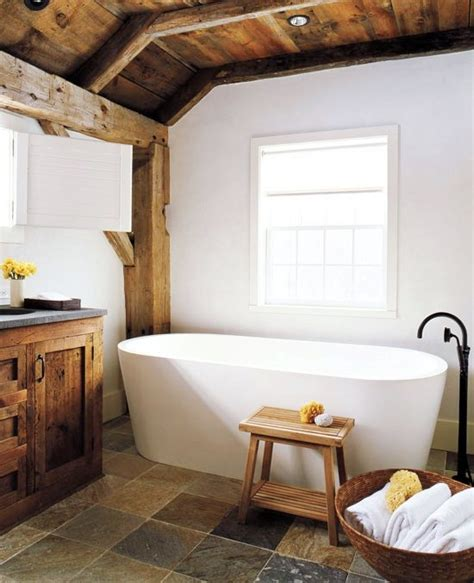 Modern Rustic Bathroom 44 Rustic Barn Bathroom Design Ideas Digsdigs