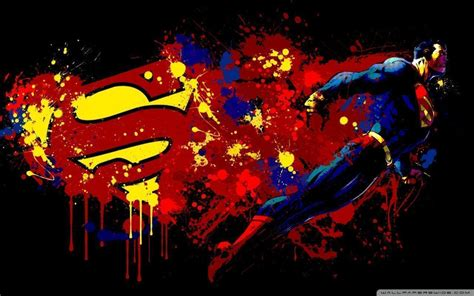 superman painting free superman wallpapers 1080p wallpaper cave