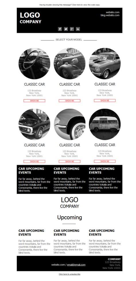 car dealer email templates template emailing gratuit t 233 l 233 chargez le mod 232 le car