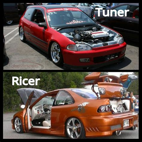ricer honda so i own a honda it came with a vtec with all these