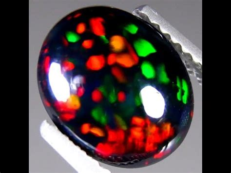 Batu Black Opal Kalimaya K022 black opal kalimaya 1 65 ct museum grade world class