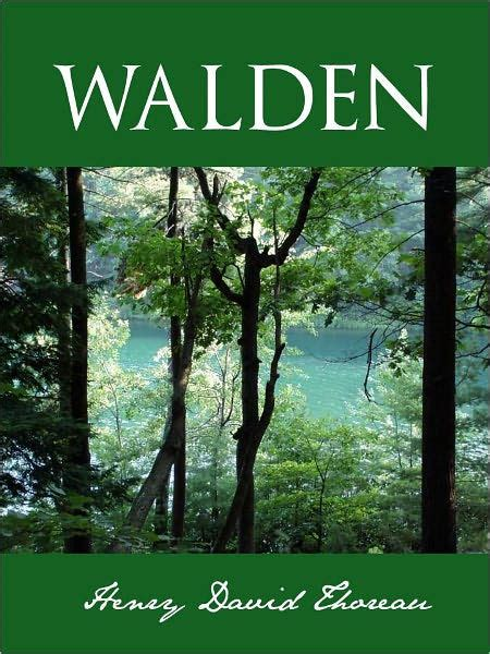 walden book barnes and noble walden the nook special classic edition by henry david