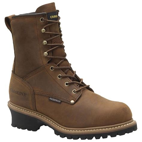 mens steel toed boots s carolina 174 8 quot 600 grams thinsulate insulated steel