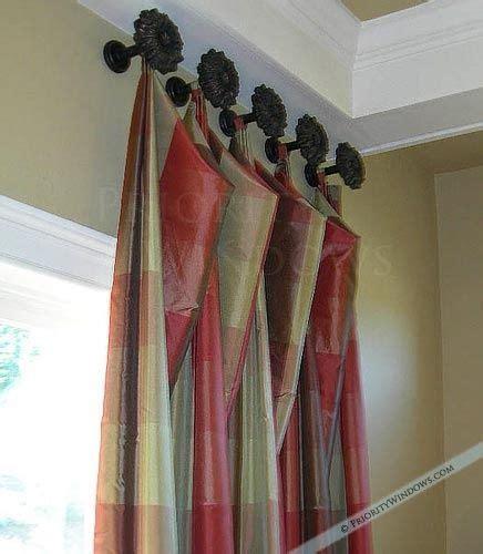 curtain drawbacks tab drapes on knobs tab curtains on decorative knobs