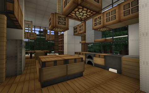 minecraft kitchen designs modern house series 3 minecraft project