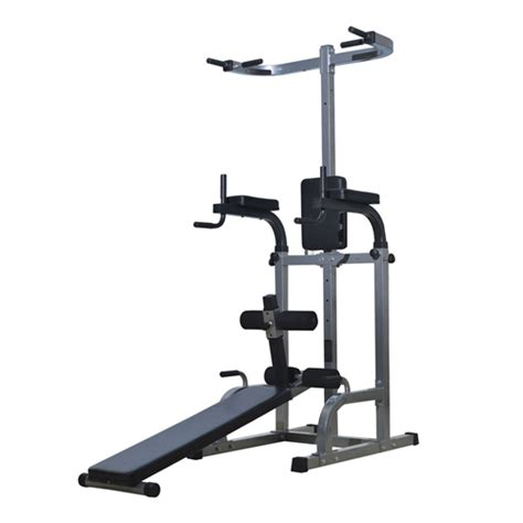 weight bench with dip station soozier power tower with dip station sit up bench pull up