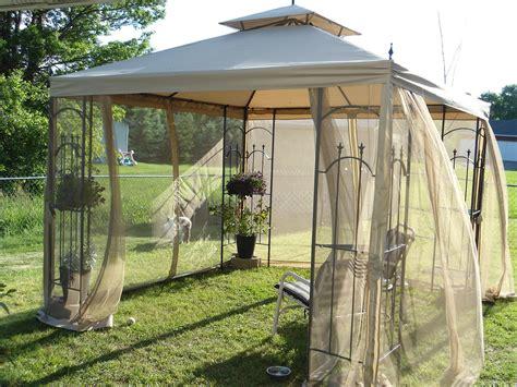 Gazebo For Less Thriftingwithcake Living Large With A Canopy Or A Gazebo