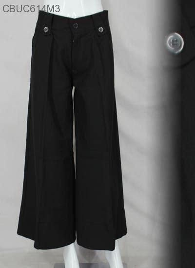 Bawahan Wanita Murah Kulot Hitam Sw Celana Wanita Balotelli H celana kulot laudya bawahan rok murah batikunik