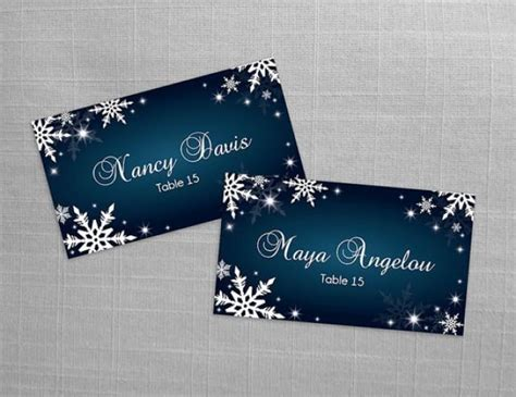 editable name card template diy printable wedding place name card template 2408992