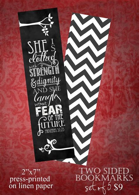 Set Of 30 Bookmark set of 5 proverbs 31 25 bookmarks proverbs bookmarks