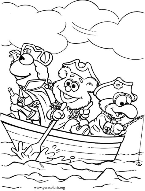 muppets coloring pages coloring home