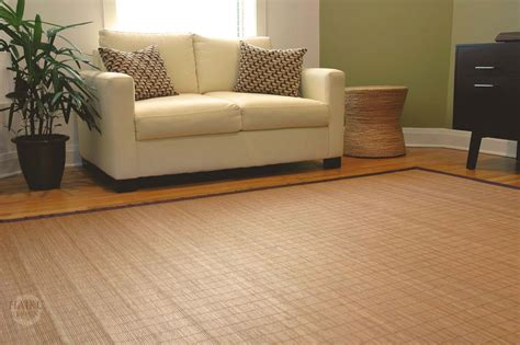 bamboo floor rugs eco friendly bamboo rugs