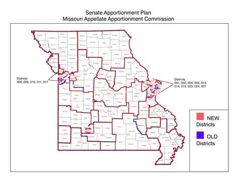 missouri district map lawsuit in supreme court challenges senate district map