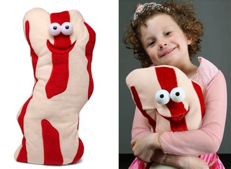 talking about bacon my bacon talking plush