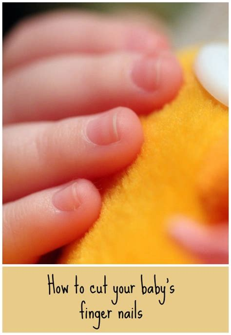 How To Cut A Baby S Nails Snotty Noses