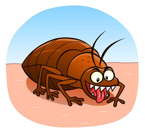 bed bug cartoon the psychological effects of bed bugs how to cope with an