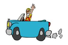 animated santa driving animated car driving vector 1 000 vectors page 1