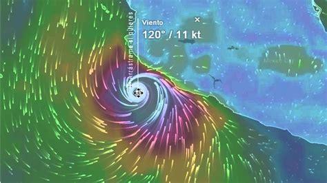 imagenes satelitales del clima imagen satelital del huracan patricia direccion y
