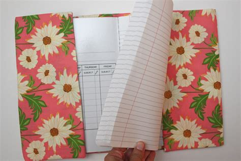 composition notebook pattern fabric fabric composition notebook cover tutorial smashed