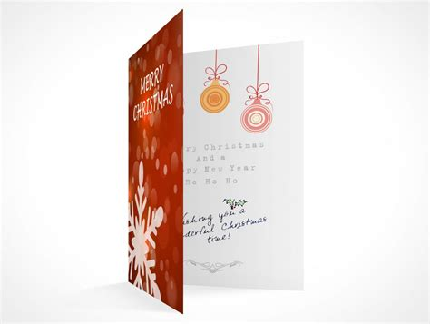 inside card message template blank greeting card mockups psd mockups
