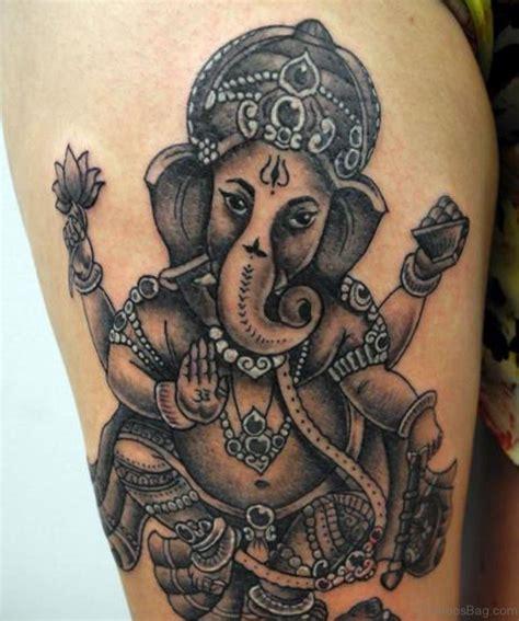 ganesha tattoo ideas 40 god ganesha tattoos on thigh