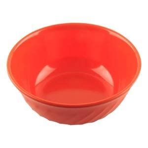 Mangkok Melamine Orange jual mangkok mangkuk sop ombak 6 inch orange glori