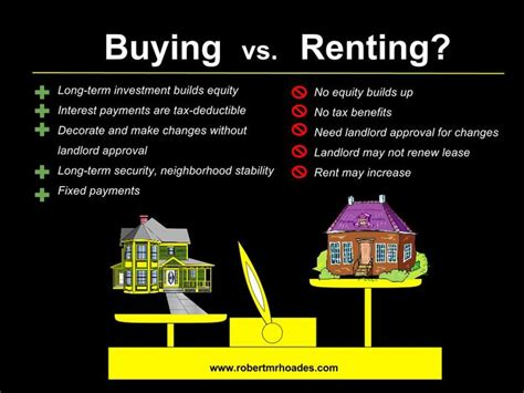 pros and cons to buying a house 49 best buying vs renting images on pinterest blog