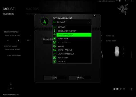 การต งค า macro razer deathadder สำหร บเกม pb