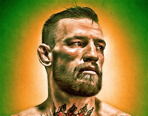 conor mcgregor digital art on behance