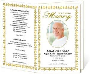 memorial bulletin template funeral order of service order of service and memorial