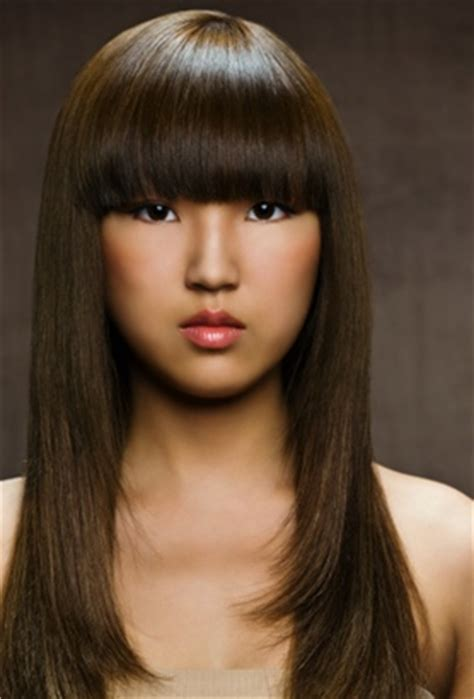 bangs styles names these hairstyles enhance the beautiful features of oval faces