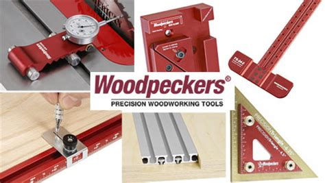 Woodworking Tool Sweepstakes - 50 woodpeckers precision woodworking tools giveaway