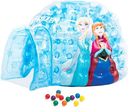 frozen play house intex inflatable ball toyz igloo frozen play house 48670 price review and buy in dubai abu
