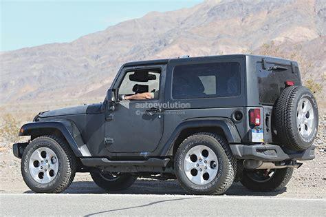 desert jeep wrangler new 2018 jeep wrangler spied testing in the desert will