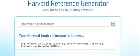 harvard bibliography generator referencing an essay using harvard referencing