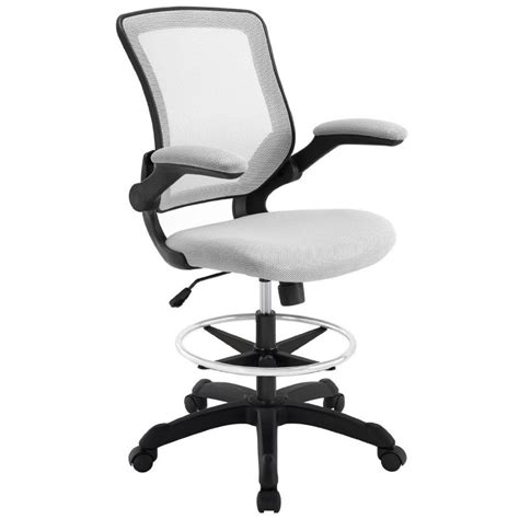 Modway Edge Drafting Stool by Tips In Selecting Bar Height Office Chair