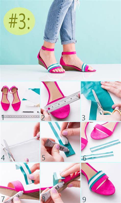ideas para decorar sandalias 3 ideas para decorar tus zapatos paso a paso solountip