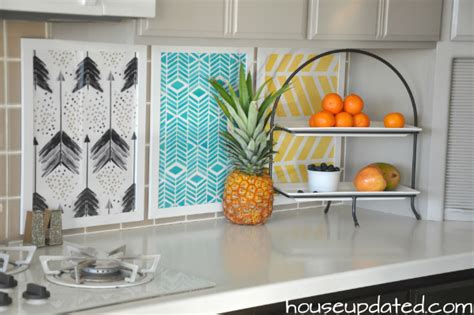 diy temporary backsplash house updated diy temporary backsplash house updated
