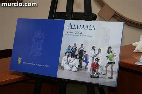 libro algn da alhama de murcia alhama da inicio a sus fiestas patronales con la presentacin del libro de las