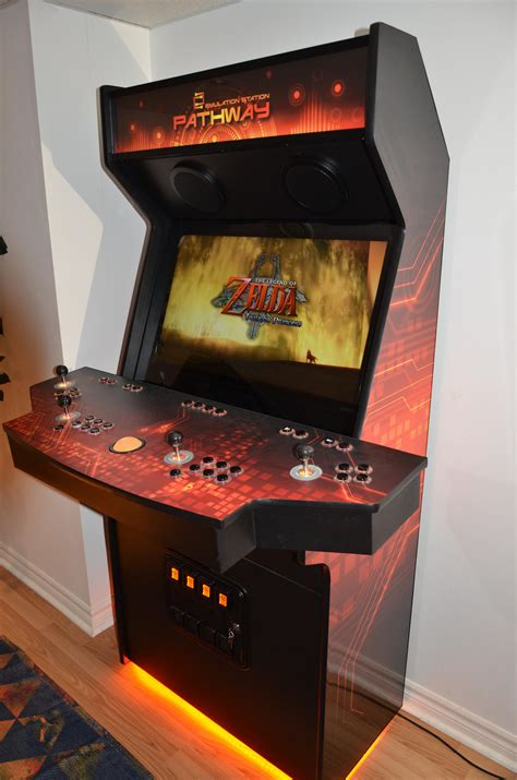arcade cabinate pathway cabinet build finished mame arcades
