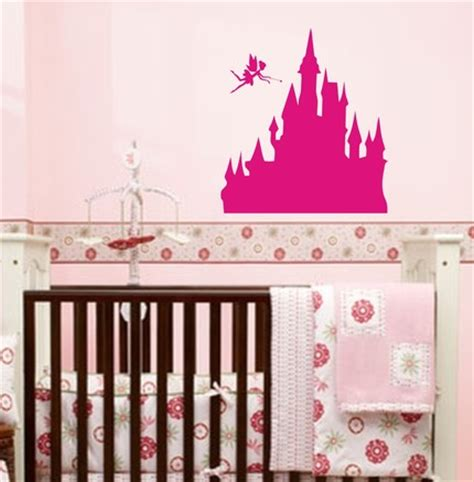 Princess Wall Decals For Nursery Princess Castle With Wall Decal Sticker Nursery Review Kaboodle