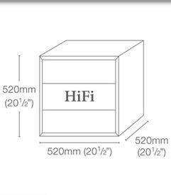 quadraspire qube storage cabinets quadraspire hifi qube storage equipment rack